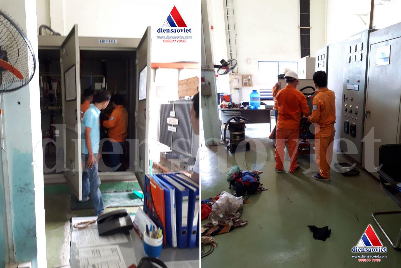 Thí nghiệm máy biến áp - Công ty TNHH MTV Điện Sao Việt